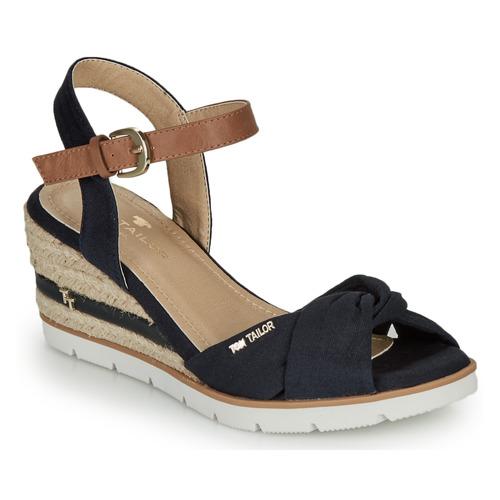 Shoes Women Sandals Tom Tailor 8090403 Marine