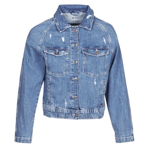 Clothing Women Denim jackets Esprit ESPRILA Blue / Medium
