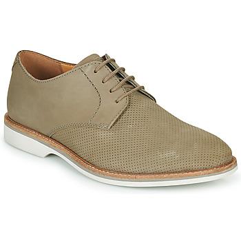 Shoes Men Derby Shoes Clarks ATTICUS LACE Beige