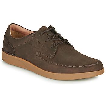 Shoes Men Derby Shoes Clarks OAKLAND CRAFT Brown