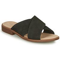 Shoes Women Mules Clarks DECLAN IVY Black