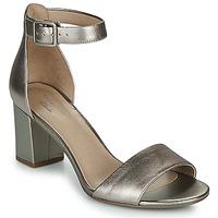 Shoes Women Heels Clarks DEVA MAE Silver