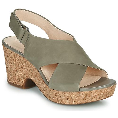 Shoes Women Sandals Clarks MARITSA LARA Taupe