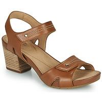 Shoes Women Sandals Clarks UN PALMA VIBE Camel
