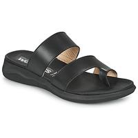 Shoes Women Flip flops Wonders  Black