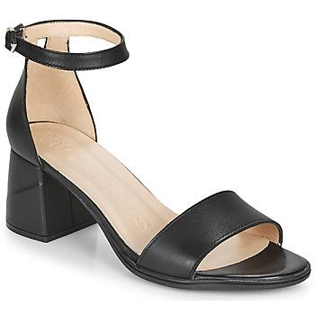 Shoes Women Sandals Wonders  Black