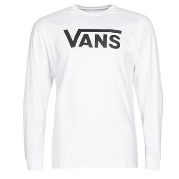 Clothing Men Long sleeved tee-shirts Vans VANS CLASSIC White