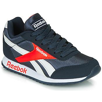 Shoes Boy Low top trainers Reebok Classic REEBOK ROYAL CLJOG Marine / Red
