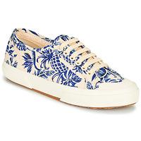 Shoes Women Low top trainers Superga 2294-COTFANW Beige / Blue