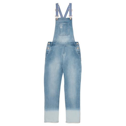 Clothing Girl Jumpsuits / Dungarees Ikks PERRINE Blue