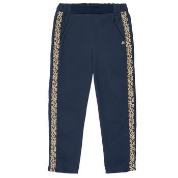 Clothing Girl Wide leg / Harem trousers Ikks NATHAN Marine