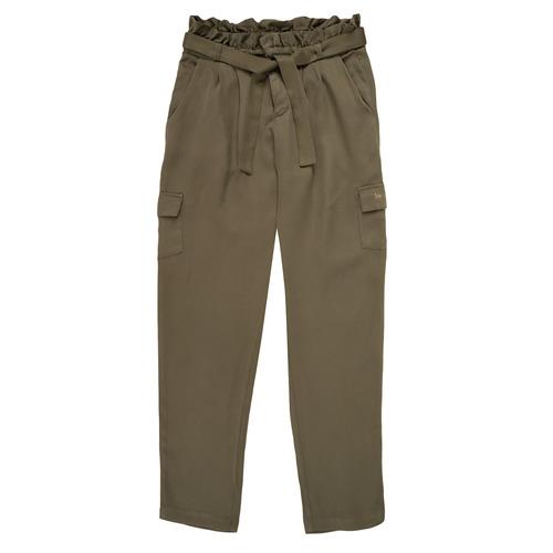 Clothing Girl Wide leg / Harem trousers Ikks ELIE Kaki