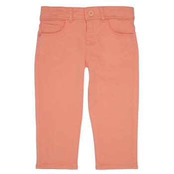Clothing Girl 5-pocket trousers Ikks CARLOTTA Orange