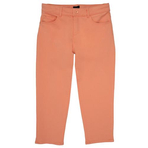 Clothing Girl 5-pocket trousers Ikks NADEGE Orange