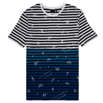 Clothing Boy short-sleeved t-shirts Ikks DANIELO Multicolour