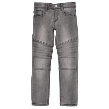 Clothing Boy Slim jeans Ikks COELE Grey