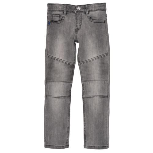 Clothing Boy slim jeans Ikks GOELLON Grey