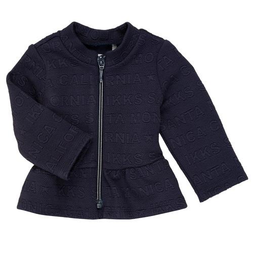 Clothing Girl Jackets / Cardigans Ikks ANE Marine