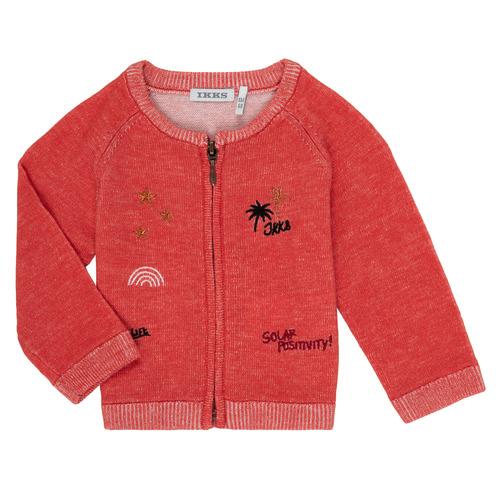 Clothing Girl Jackets / Cardigans Ikks VALERIE Orange