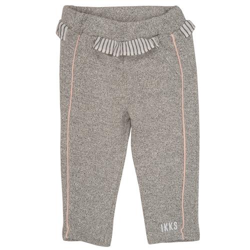 Clothing Girl leggings Ikks PATRICE Grey