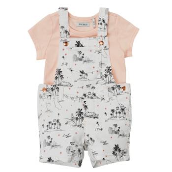Clothing Girl Jumpsuits / Dungarees Ikks BARTA Multicolour