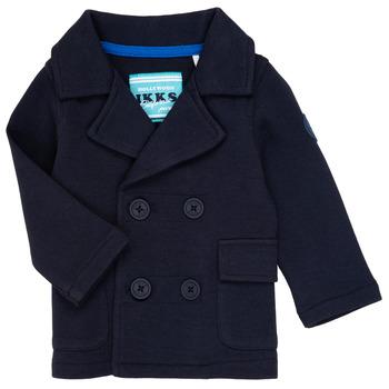 Clothing Boy Jackets / Cardigans Ikks CYLIA Marine