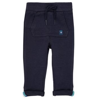 Clothing Boy Tracksuit bottoms Ikks LIVALI Marine