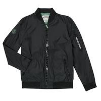 Clothing Boy Jackets Kaporal ELMO Black