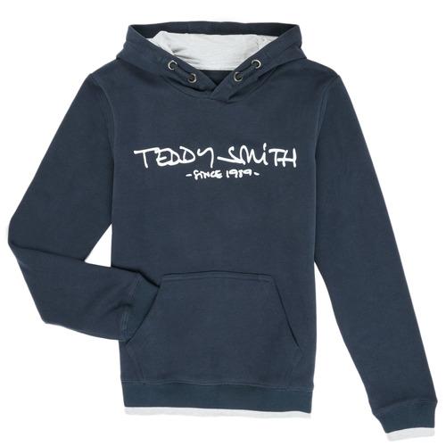 Clothing Boy Sweaters Teddy Smith SICLASS Blue