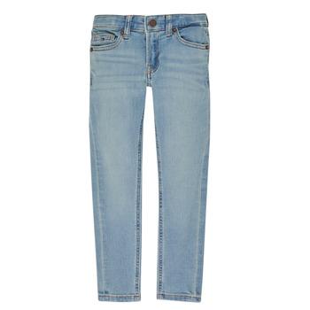 Clothing Boy slim jeans Tommy Hilfiger SIMON Blue