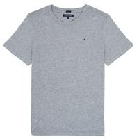 Clothing Boy Short-sleeved t-shirts Tommy Hilfiger KB0KB04140 Grey