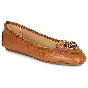 Shoes Women Flat shoes MICHAEL Michael Kors LILLIE Cognac