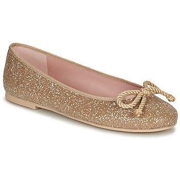 Shoes Women Flat shoes Pretty Ballerinas BELLE SAND Gold