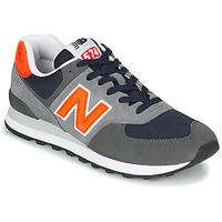 Shoes Men Low top trainers New Balance 574 Grey / Orange