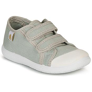 Shoes Children Low top trainers Citrouille et Compagnie GLASSIA Grey