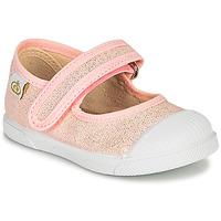 Shoes Girl Flat shoes Citrouille et Compagnie APSUT Pink