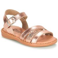 Shoes Girl Sandals Citrouille et Compagnie IZOEGL Bronze