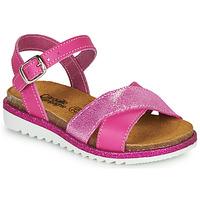 Shoes Girl Sandals Citrouille et Compagnie GAUFRETTE Pink