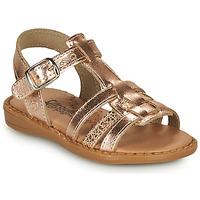Shoes Girl Sandals Citrouille et Compagnie ROLUI Bronze