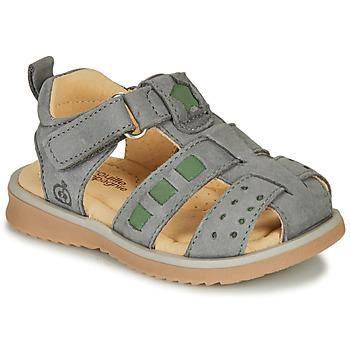 Shoes Boy Sandals Citrouille et Compagnie MERKO Kaki