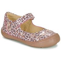 Shoes Girl Flat shoes Citrouille et Compagnie JALIPINE Leopard