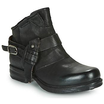 Shoes Women Mid boots Airstep / A.S.98 SAINTEC Black