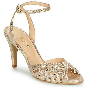 Shoes Women Sandals Jonak DAICHYAN Platinum