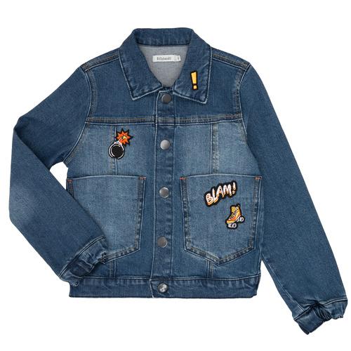 Clothing Boy Denim jackets Billieblush / Billybandit NOTINIO Blue