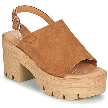 Shoes Women Sandals Musse & Cloud TAIKI Cognac