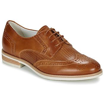 Shoes Women Derby Shoes André BEKKI Camel