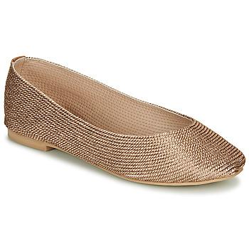 Shoes Women Flat shoes André PAPAYA Gold