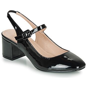 Shoes Women Flat shoes André JONNA Black / Varnish