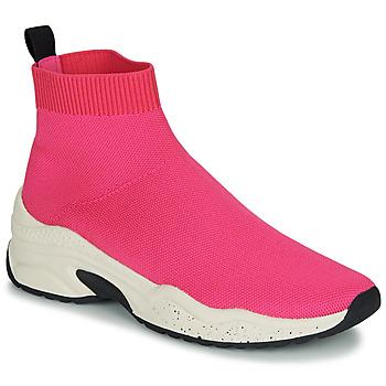 Shoes Women Hi top trainers André HARUNA Pink