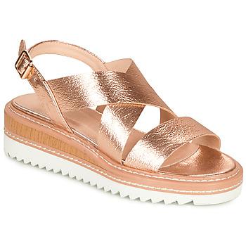 Shoes Women Sandals André EULALIE Gold